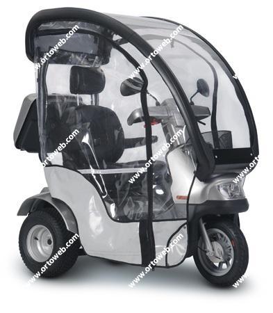 Protector lateral de lluvia asiento individual
