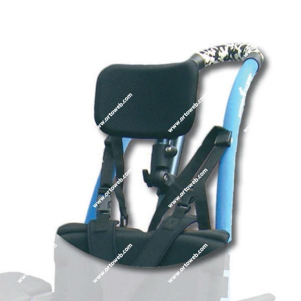 Silla de ruedas hippocampe versi n playa ortoweb - Reposacabezas silla de ruedas ...