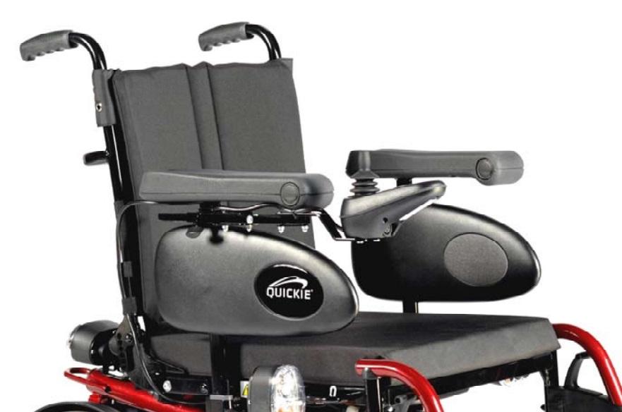 Ancho de asiento 43cm. (regulable de 43 a 48cm.)