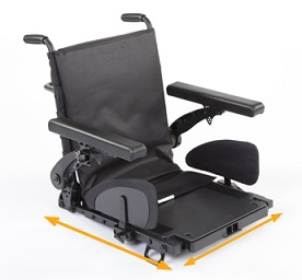 Quickie Hula - asiento multiajustable