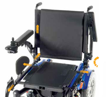 Quickie Salsa R2 - asiento multiajustable