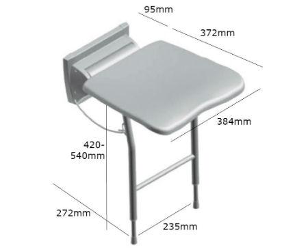 asiento-de-ducha-plegable-de-pared-futura-con-pies-medidas