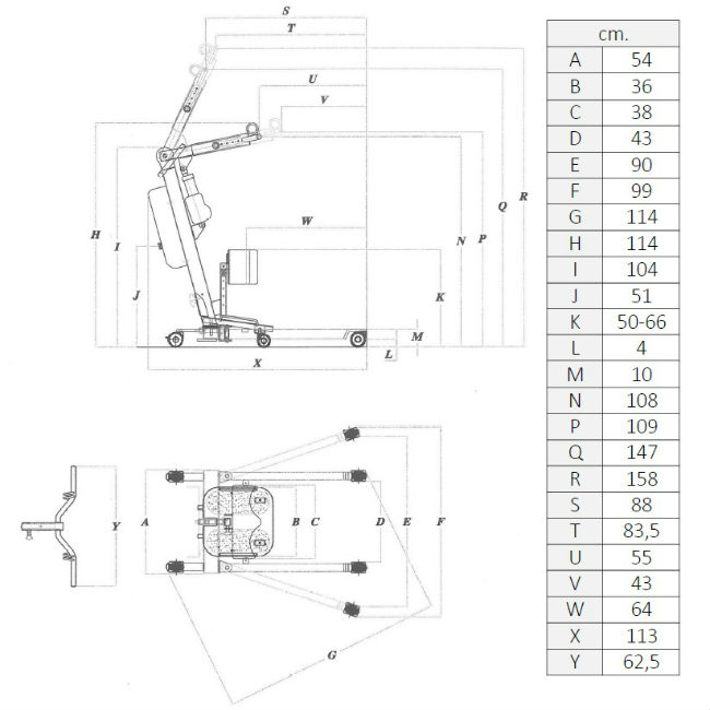 grua-de-bipedestacion-powerlift-up-1-con-arnes-medidas