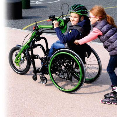 Handbike Quickie Attitude Junior manual creciendo juntos