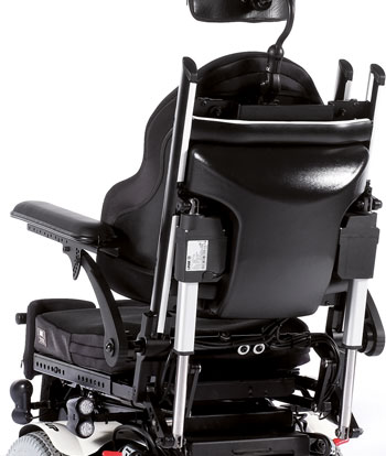 Quickie Jive Up - respaldo reclinable electrico antifriccion