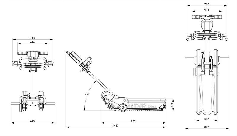 oruga-salvaescaleras-lg2004-basic-dimensiones