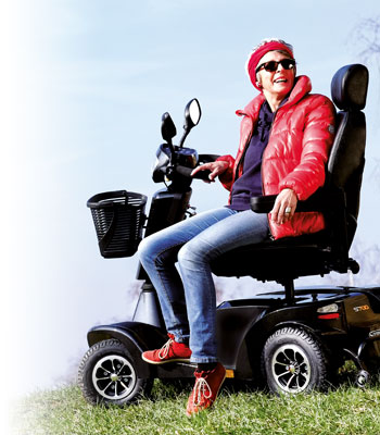 Scooter S700 rendimiento en exteriores