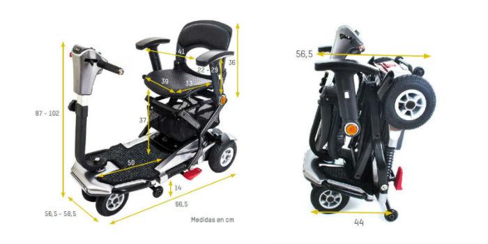 Scooter I Elite con plegado automático y sistema ESP