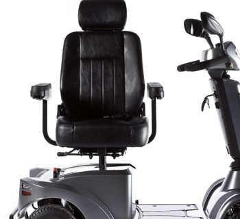 Scooter S400 asiento confort