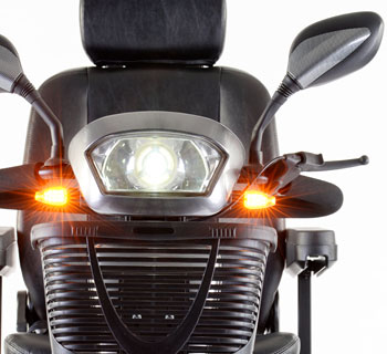 scooter S400 luces de led