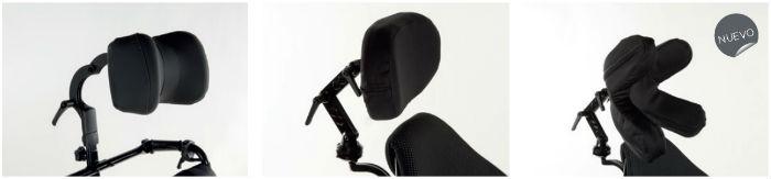 Invacare action 4 ng silla de ruedas de aluminio plegable ortoweb - Reposacabezas silla de ruedas ...